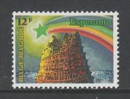 TIMBRE NEUF DE BELGIQUE - 67E CONGRES MONDIAL D'ESPERANTO N° Y&T 2053 - Esperanto