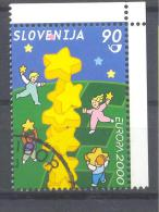 Slowenien Slovenia Slovenie 2000 Used; Europa Cept - 2000
