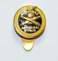 Distintivo/Badge Associazione Nazionale Artiglieri D´Italia Smalti - Militari
