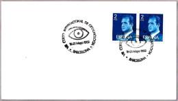 Matasellos Curso Int. De OFTALMOLOGIA - OPHTHALMOLOGY. Barcelona 1982 - Salud