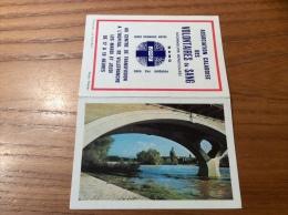 """Calendrier 1968 """"ASSOCIATION CALADOISE SANG VILLEFRANCE (69) / Photo Théojac Le Pont-Neuf Toulouse (31)"""" (9,4x13cm) - Petit Format : 1961-70"""