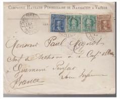 CHILI -- LETTRE DE VALPARAISO --- POUR LA FRANCE 1905 -- - Chile
