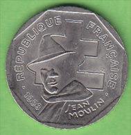 FRANCE 2 FRANCS JEAN MOULIN   ANNEE 1993    LOT FR158 - France
