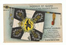Guerre 14/18 Drapeau Allemand Du 68e D'Infanterie Pris à L'ennemi à Ourcq En Septembre 1914(fr30)1296 - Oorlog 1914-18