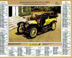 Calendrier Almanach Du Facteur 1997 (Finistère 29) - Calendriers