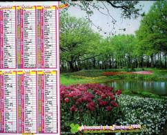 Calendrier Almanach Du Facteur 1992 (Finistère 29) - Calendriers