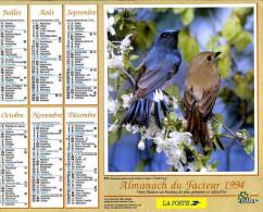 Calendrier Almanach Du Facteur 1994 (Finistère 29) - Calendriers