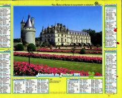 Calendrier Almanach Du Facteur 1991 (Finistère 29) - Calendriers