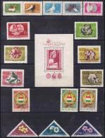 Timbre HONGRIE 1957-58 Oblitéré - Oblitérés