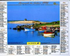 Calendrier Almanach Du Facteur 1998 (Finistère 29) - Calendriers