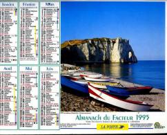 Calendrier Almanach Du Facteur 1995 (Finistère 29) - Calendriers