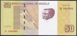 Angola 50 Kwanzas 2012 P152 UNC - Angola