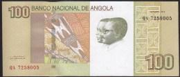 Angola 100 Kwanzas 2012 P153 UNC - Angola