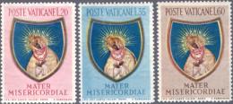 VATICANO 1954 - CHIUSURA DELL'ANNO MARIANO - SERIE COMPLETA NUOVA ** PERFETTA - Ungebraucht