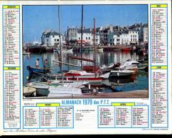 Calendrier Almanach Du Facteur 1979 (Finistère 29) N° 2 - Calendriers