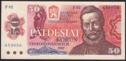 Czechoslovakia 50 Korun 1987 P96 UNC - Czechoslovakia