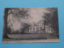 BOIS-SEIGNEUR-ISAAC Château Et Ancienne Tour ( Gilissen ) Anno 1913 ( Zie Foto Voor Details ) !! - Eigenbrakel