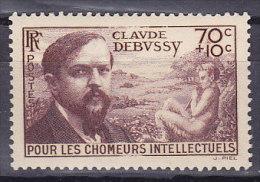 1939 - YVERT N° 437 ** SANS CHARNIERE - COTE = 12,00 EUR - France