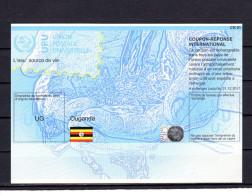 8209 IRC - IAS CRI - International Reply Coupon - Antwortschein T 37 Uganda Ouganda UG20140515AA - Ouganda (1962-...)