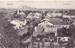 VOIR SCANS - Kalvarja - Kalvarija - Totalblick - Totalansicht (Lituanie) - Caché Postal Militaire Allemand 1916 - Lituanie