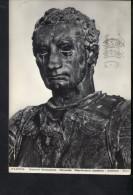 N2342 STATUA E SCULTURA  - IL GENERALE GATTAMELATA, OPERA DEL DONATELLO - SCULTPURE, STATUE, BRONZE - VIAGGIATA 1957 - Sculptures