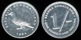 SOMALILAND   1  SHILLING  1.994  ALUMINIO   KM#1   SC/UNC     T-DL-10.173 - Monedas