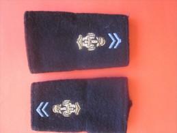 Fourreau D'épaule De Grade Du 28e Régiment De Transmissions Armée De Terre Française=>Décoré De La Croix De Guerre 14 - Equipement
