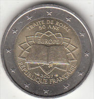 FRANCE - Treaty Of Rome, 2 Euro Coin 2007, Unused - France