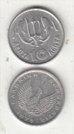 GREECE - Dolphins, Coin 10 Lepta, 1973 - Greece