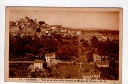 CPA/RYS966/CAGNES VUE GENERALE COTE OUEST ROUTE DE VENCE 1931 - Cagnes-sur-Mer