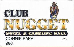 Pahrump Nugget Casino Slot Card NV - Printed With ABLECARD.COM Over Mag Stripe - Casino Cards