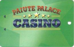 Paiute Palace Casino Bishop CA - BLANK Players Club Slot Card - Casino Cards