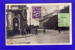 N°316. LETTONIE. RIGA . ASPAZIJAS BULVARS -CARTE POSTALE PHOTO-( VOIR TIMBRE  ) - Letonia