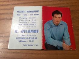 """Calendrier 1964 (12 Pages De Notes Intégrés) """"DELORME VILLEFRANCHE (69) / GÉRARD BARRAY Cliché SAM LÉVIN"""" (9x12,2cm) - Petit Format : 1961-70"""