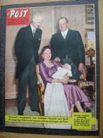 OUD TIJDSCHRIFT MAGAZINE DE POST 1957 N 39 KUWATLI SYRIE HAAKON NORWAY PRINS ALEXANDER AGA KHAN JULIANA EXPEDITIE DUMONT - Magazines & Newspapers