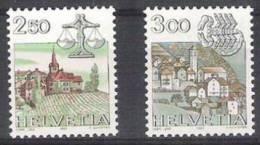 Suiza 1217/1218 ** MNH. 1985 - Ungebraucht