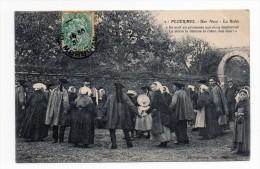 CPA PLOERMEL 56 UNE NOCE LA RIDEE Costumes Traditionnels - Ploërmel