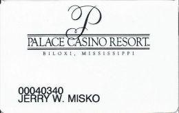 Palace Casino Biloxi MS Slot Card - Casino Cards