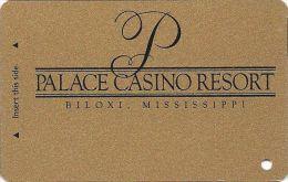 Palace Casino Biloxi MS - BLANK Slot Card - Biloxi In Reverse Logo (See Reverse Scans) - Casino Cards