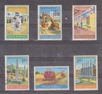 1978 -  Industries Roumaines Mi No 3530/3535 Et Yv 3115/3120 - 1948-.... Republiken