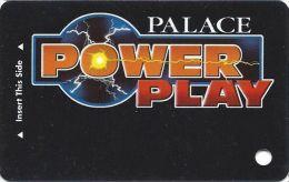 Palace Casino Biloxi MS - BLANK Power Play Slot Card - Bottom Long Reverse 65mm Wide - Casino Cards