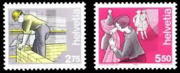 Suiza 1325/1326 ** MNH. 1989 - Schweiz