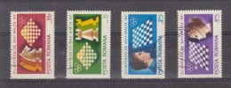 1980 - Olympiades D Echecs A Malte Mi No 3747/3750 E Yv No 3298/3301 - 1948-.... Republiken