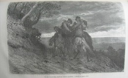 TOUR DU MONDE 1872: SARAGOSSE TORRE NUEVA/NOTRE-DAME DEL PILAR/DUEL A LA NAVAJA/BUHONERO ARAGONAIS - Revistas - Antes 1900