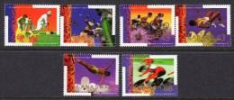CANADA - 1994 COMMONWEALTH GAMES VICTORIA SET (6V) FINE MNH ** SG 1590-1595 - Nuovi