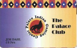 Palace Indian Gaming Center Lemoore, Calif. Slot Card - Casino Cards