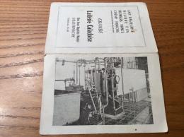 """Calendrier 1962 """"Laiterie Caladoise VILLEFRANCHE (69)"""" (12x16cm) - Petit Format : 1961-70"""