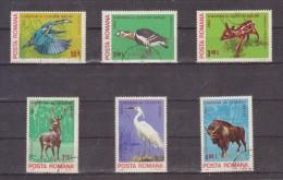 1980 - Protection De La Nature Michel No 3705/3710 Et Yv No 3271/3276 - 1948-.... Republics