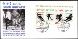 Germany Bochum 1971 Olympic Games Sapporo 1972 Jump Skiing Figure Skating Alpine Skiing Ice Hockey - Winter 1972: Sapporo