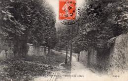 CPA ATHIS MONS - DESCENTE DE LA GARE - Athis Mons